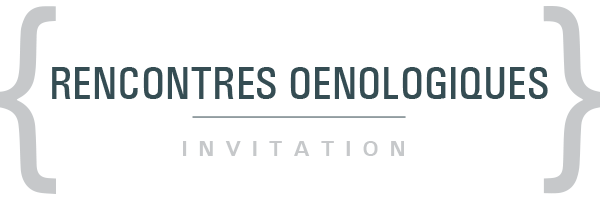 Rencontres Oenologiques - Invitation